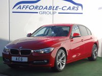 USED 2012 62 BMW 3 SERIES 2.0 318d Sport 4dr (start/stop) 18' ALLOYS+BLUETOOTH