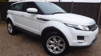USED 2013 63 LAND ROVER RANGE ROVER EVOQUE 2.2 ED4 PURE TECH 5dr Sat Nav, Leather, 1 Owner