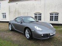 2011 PORSCHE CAYMAN 2.9 24V 2d 265 BHP £25995.00