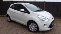 USED 2014 64 FORD KA 1.2 EDGE 3dr Air Con, 1 owner, £30 Tax