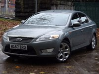 USED 2007 57 FORD MONDEO 2.0 GHIA 145 5d 144 BHP