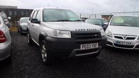 USED 2003 03 LAND ROVER FREELANDER 2.0 TD4 SERENGETI 5d 110 BHP CLEARANCE AS IS . NOT AVAILABLE ON FINANCE.