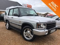 2003 LAND ROVER DISCOVERY 2.5 TD5 LE ADVENTURER 7STR 5d AUTO 137 BHP £5995.00