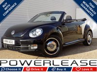 USED 2014 14 VOLKSWAGEN BEETLE 1.2 DESIGN TSI 3d 103 BHP BLACK FRIDAY WEEKEND EVENT DAB HEATED SEATS FULL HISTORY