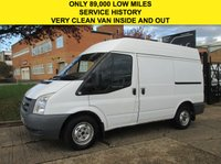 USED 2010 60 FORD TRANSIT 2.2TDCI T260 SWB SEMI HIGH ROOF. ONLY 89,000 MILES. FSH LOW RATE FINANCE. PX WELCOME. CLEAN EXAMPLE.