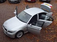 USED 2009 59 BMW 3 SERIES 3.0 330D SE 4d AUTO 242 BHP FULL BMW SERVICE HISTORY, AUTOMATIC, BLUETOOTH. REAR PARKING SENSORS