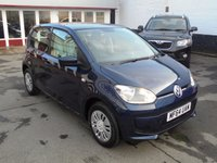 2014 VOLKSWAGEN UP 1.0 MOVE UP 5d AUTO 59 BHP £8495.00