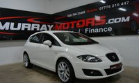 2011 SEAT LEON 1.6 CR TDI S EMOCION 5DOOR CANDY WHITE £5999.00