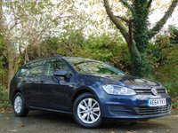 2014 VOLKSWAGEN GOLF 1.6 BLUEMOTION TDI 5d 108 BHP £7992.00