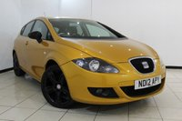 USED 2012 12 SEAT LEON 2.0 CR TDI FR 5DR 140 BHP SERVICE HISTORY + CLIMATE CONTROL + PARKING SENSOR + CRUISE CONTROL + MULTI FUNCTION WHEEL + ALLOY WHEELS