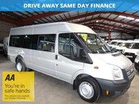 2012 FORD TRANSIT 2.2 430 SHR BUS 17 STR 134 BHP - VERY LOW MILEAGE - £10995.00