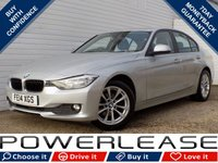 USED 2014 14 BMW 3 SERIES 2.0 316D SE 4d 114 BHP BLACK FRIDAY WEEKEND EVENT, £30 TAX 1 OWNER DAB SAT NAV