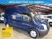 2012 FORD TRANSIT 2.2 350 TREND MWB H/R 125 BHP AIR COND-ONE OWNER £6495.00