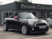 2014 MINI CONVERTIBLE 1.6 JOHN COOPER WORKS 2d 208 BHP £14490.00