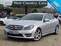USED 2014 14 MERCEDES-BENZ C CLASS 1.6 C180 AMG SPORT EDITION 2d 154 BHP Only 2 Owners From New, Full Mercedes Service History
