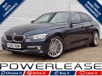 USED 2012 62 BMW 3 SERIES 2.0 320D LUXURY 4d 184 BHP BLACK FRIDAY WEEKEND EVENT, BLUETOOTH CRUISE CONTROL