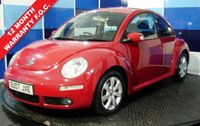 USED 2007 07 VOLKSWAGEN BEETLE 1.9 TDI 3d 103 BHP Lovely looking example of this funky and iconic VW Beetle, This car has done 130k but has been looked after regardless of cost, it actuall belonged to a friend of mines daughter for the latter half of its life and to say the least he is fastidious with his cars especially his daughters car. Although this car is under the threshold to normally get our 5 star dealer package then we are that confident of it that we are selling it with the full package included. Looks and drives fantastic.
