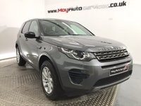 2017 LAND ROVER DISCOVERY SPORT 2.0 TD4 SE 5d AUTO 180 BHP £32995.00
