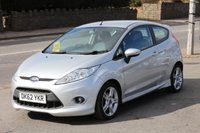 USED 2012 62 FORD FIESTA 1.6 ZETEC S TDCI 3d 94 BHP +++ FREE 6 months Autoguard Warranty included in screen price +++