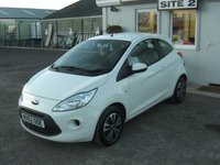 USED 2012 62 FORD KA 1.2 EDGE 3d 69 BHP £25 PER WEEK NO DEPOSIT, SEE FINANCE LINK BELOW