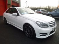 2013 MERCEDES-BENZ C CLASS 2.1 C250 CDI BLUEEFFICIENCY AMG SPORT PLUS 4d AUTO 202 BHP £12950.00