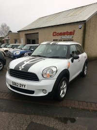 2012 MINI COUNTRYMAN 1.6 ONE 5d 98 BHP £8295.00