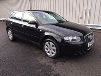 USED 2006 56 AUDI A3 1.9 TDI SE103 BHP SPORT BACK 1 OWNER, FULL AUDI SERVICE HISTORY, LOW MILEAGE, RAC WARRANTY