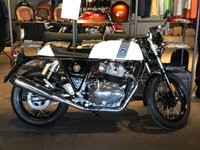 USED 2019 19 ROYAL ENFIELD CONTINENTAL GT 650 ICE QUEEN PRICE IS ON THE ROAD