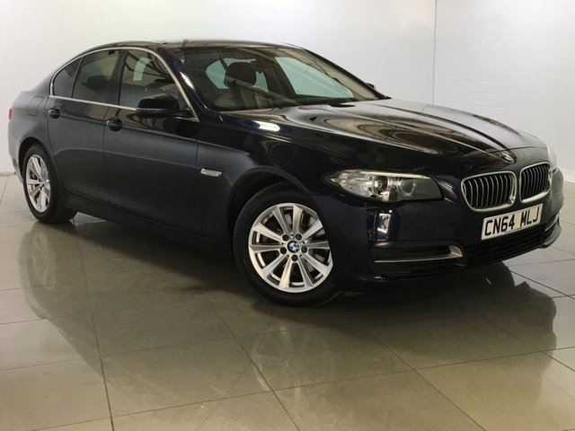 View our 2014 64 BMW 5 SERIES 2.0 520D SE 4d AUTO 181 BHP