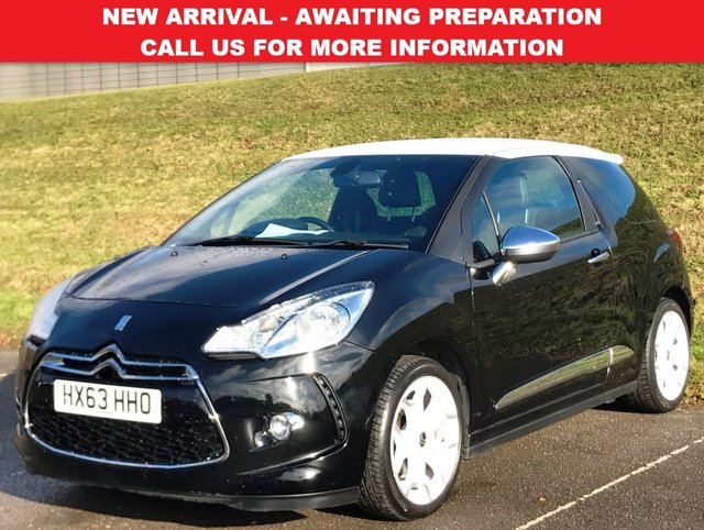 View our 2013 63 CITROEN DS3 1.6 E-HDI AIRDREAM DSPORT PLUS 3d 111 BHP