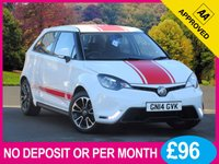 USED 2014 14 MG 3 1.5 3 STYLE VTI-TECH 5dr 106 BHP BLUE TOOTH PHONE 16 INCH ALLOYS