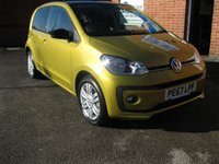 USED 2017 67 VOLKSWAGEN UP 1.0 HIGH UP 5d 74 BHP