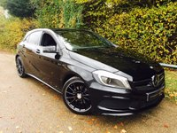 USED 2015 64 MERCEDES-BENZ A CLASS 1.5 A180 CDI BLUEEFFICIENCY AMG SPORT 5d 109 BHP Full Mercedes Service History! Panoramic Sun Roof, Sat Nav, B-tooth!
