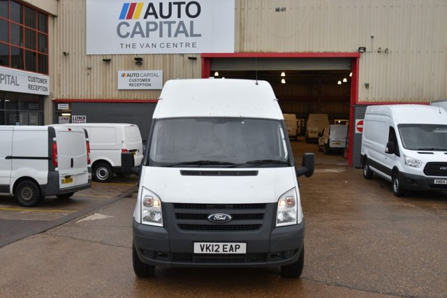 2012 12 FORD TRANSIT 2.4 350 H/R 5d 115 BHP LWB RWD ONE OWNER FROM NEW