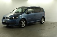 2013 VOLKSWAGEN TOURAN 2.0 TDI BlueMotion Tech SE 5dr £8000.00