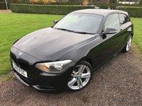 2013 BMW 1 SERIES 2.0 125D M SPORT 3d AUTO 215 BHP Full BMW History MOT 11/18 £10949.00