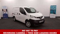2015 NISSAN NV200 1.5 DCI ACENTA 90 BHP +No Vat To Pay+Nil Deposit Finance Available+Ply Lined+Low Mileage+ £6980.00
