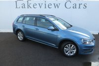 USED 2014 14 VOLKSWAGEN GOLF 2.0 TDI SE Estate 5dr ONE OWNER FROM NEW £30 TAX