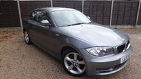 USED 2010 10 BMW 1 SERIES 2.0 118d SE Coupe 2dr £30/yr Tax, Great Spec, BMW SH