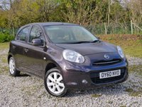USED 2010 60 NISSAN MICRA 1.2 ACENTA 5d AUTO 79 BHP