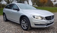 USED 2015 65 VOLVO V60 2.4 D4 CROSS COUNTRY LUX NAV AWD 5d AUTO 187 BHP