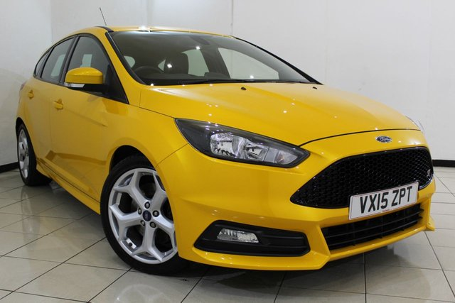 View our 2015 15 FORD FOCUS 2.0 ST-2 5DR 247 BHP