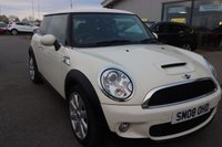 USED 2008 08 MINI HATCH COOPER 1.6 COOPER S 3d 172 BHP LOW DEPOSIT OR NO DEPOSIT FINANCE AVAILABLE.
