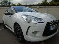 2011 CITROEN DS3 1.6 DSTYLE PLUS 3d 120 BHP £5999.00