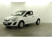 USED 2013 63 VAUXHALL CORSA 1.3 CDTi ecoFLEX 16v Panel Van 3dr (EU5) NO VAT , LOW MILEAGE