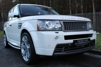 USED 2008 58 LAND ROVER RANGE ROVER SPORT 3.6 TDV8 SPORT HST 5d 269 BHP A RARE WHITE HST TDV8 WITH LOW MILEAGE, FULL HISTORY AND BEAUTIFUL CONDITION THROUGHOUT!!!