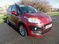 2009 CITROEN C3 PICASSO 1.4 PICASSO EXCLUSIVE 5d 95 BHP 1 OWNER, RED £5195.00