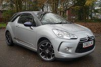 USED 2013 63 CITROEN DS3 1.6 DSTYLE PLUS 3d 120 BHP FULL SERVICE HISTORY, LOW MILEAGE