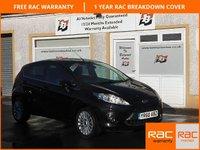 USED 2010 60 FORD FIESTA 1.4 TITANIUM 5d 96 BHP Voice control , Bluetooth ,Privacy Glass