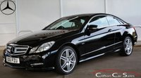 2011 MERCEDES-BENZ E CLASS E220CDi BlueEFFICIENCY SPORT ED125 COUPE AUTO 170 BHP £13990.00